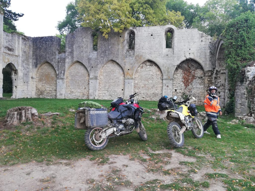 randonnée moto off road