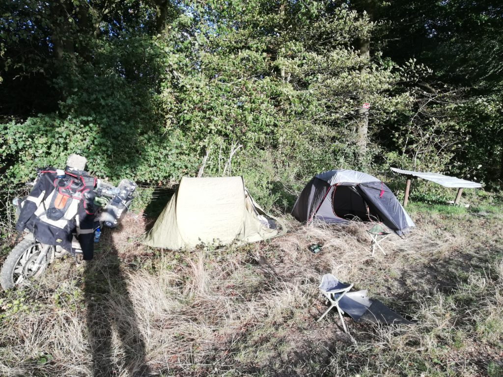 installation tente
